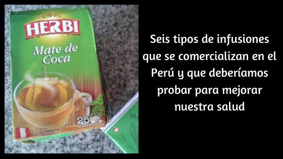 infusiones del Perú