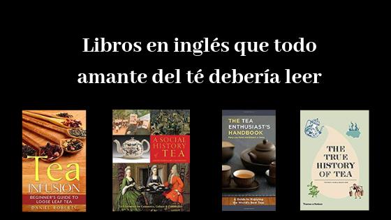 libros en inglés sobre el té
