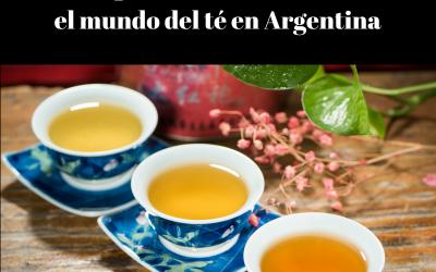 Guía esquemática de cursos sobre el mundo del té en Argentina