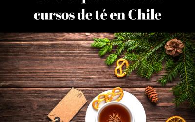 Guía esquemática de cursos sobre el mundo del té en Chile