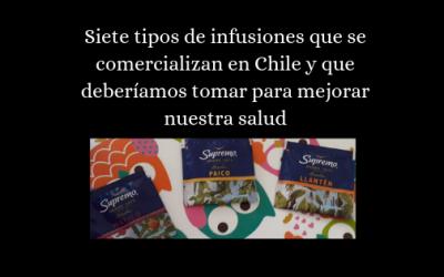 Siete tipos de infusiones que se comercializan en Chile y que deberíamos tomar para mejorar nuestra salud