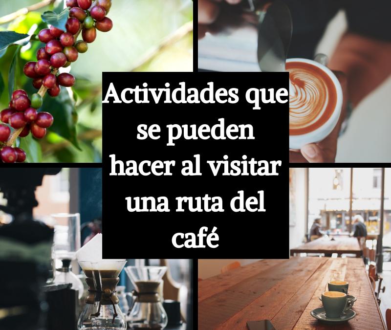 11 actividades que se pueden hacer al visitar una ruta del café