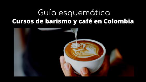 Guía esquemática de cursos de barismo y café en Colombia