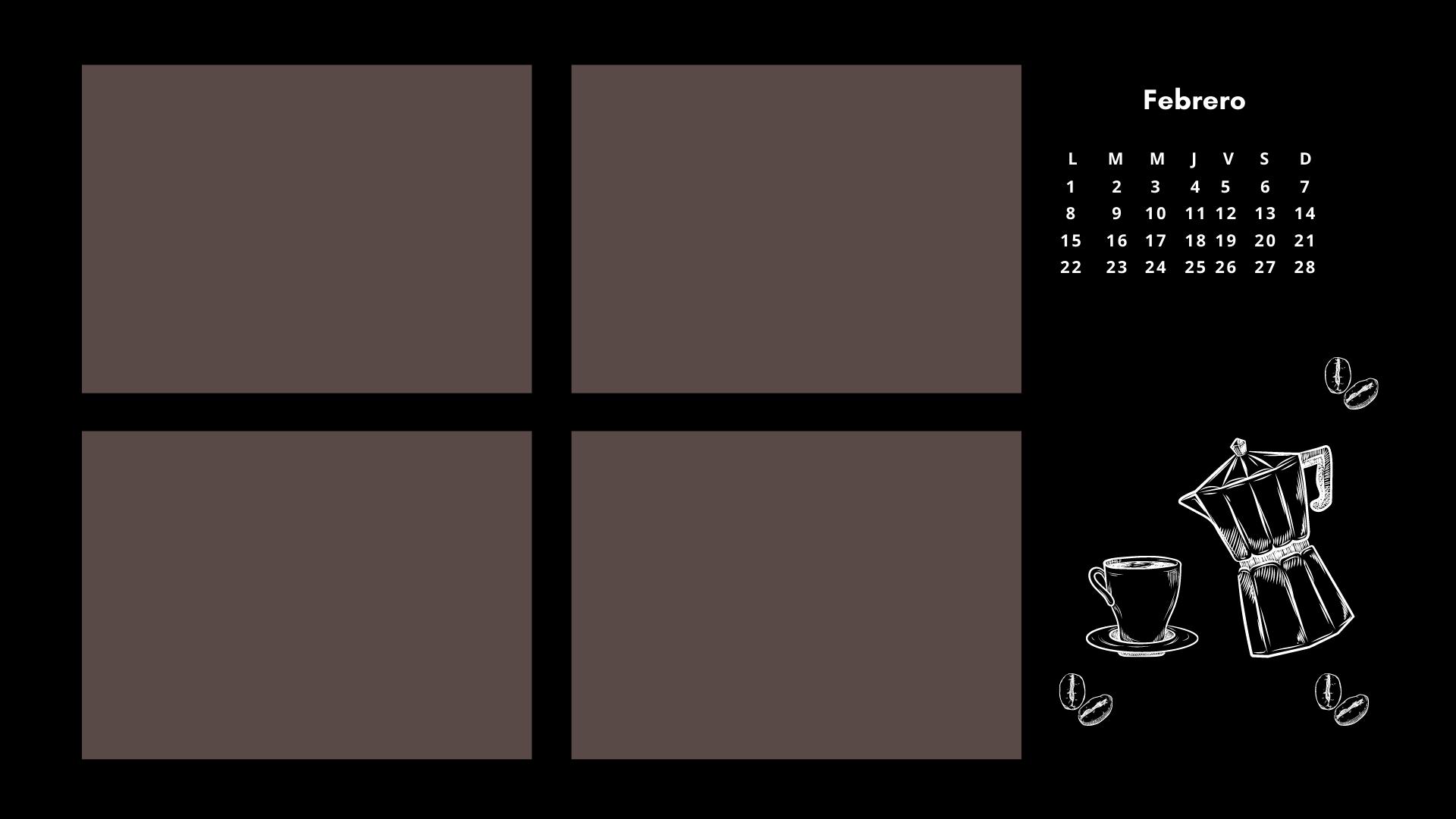 fondo de pantalla organizador-café